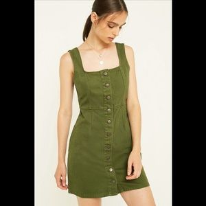 Urban Outfitters Military Denim Dress 8